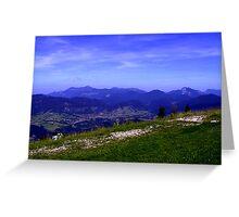 Hochkössen - Austria Greeting Card