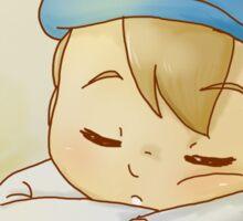 Professor Layton- Sleeping Luke Sticker