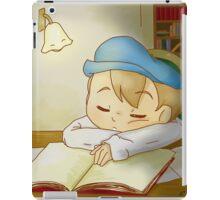 Professor Layton- Sleeping Luke iPad Case/Skin
