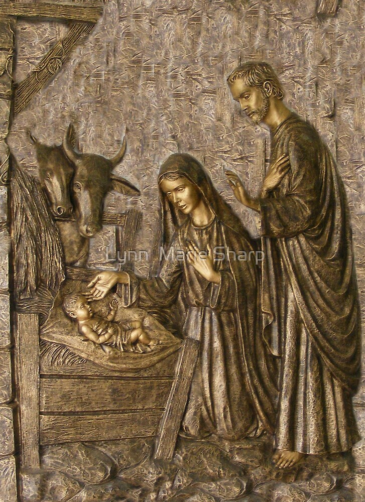 The Birth of Christ by Marie Sharp