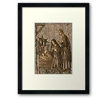 The Birth of Christ Framed Print