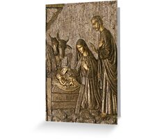 The Birth of Christ Greeting Card