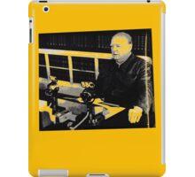 Churchill- BBC speech....T-shirt etc..... iPad Case/Skin