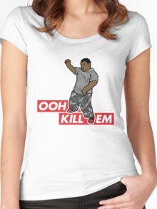Ooh Kill Em v1 Women's Fitted Scoop T-Shirt