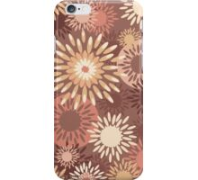 Floral retro pattern iPhone Case/Skin