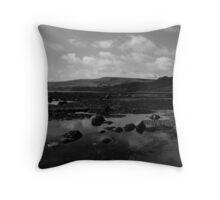 Looking Towards Ravenscar Throw Pillow