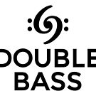 Double Bass 69 Clef Black by theshirtshops