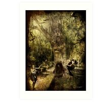 The Old Goat Tree (poetry & music) Art Print