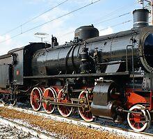 Old locomotive - Bra (Cn) - Italy by Bru66