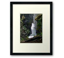 Athabaska Gorge Framed Print