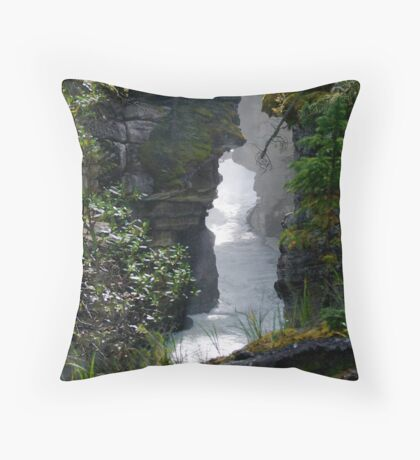 Athabaska Gorge Throw Pillow