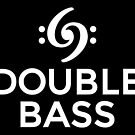 Double Bass 69 Clef White by theshirtshops