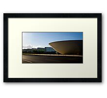 brazilian congress and ministries Framed Print