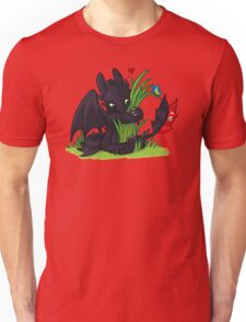 Dragons Love Grass Unisex T-Shirt