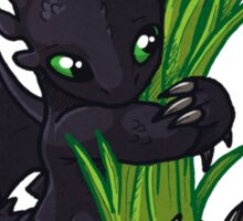 Dragons Love Grass Sticker
