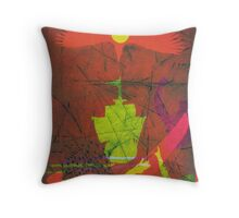 On the 3rd Day (from Meditations on Moby Dick) Throw Pillow