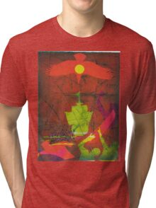 On the 3rd Day (from Meditations on Moby Dick) Tri-blend T-Shirt