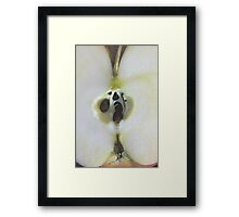 Exposed Core Framed Print