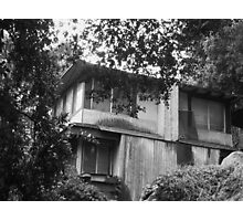 Haunted House in the Sierra Madre Canyon Photographic Print