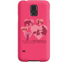 Love Animals - Land Animal Career Samsung Galaxy Case/Skin