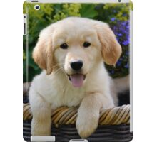 Charming Goldie Puppy iPad Case/Skin