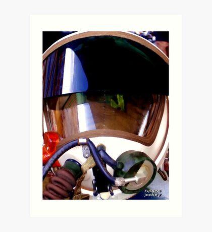 Space jockey. Art Print