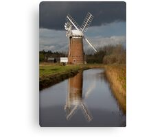 Stormy Horsey Mill! Canvas Print