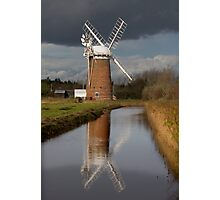 Stormy Horsey Mill! Photographic Print