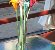 Origami Flowers by gadnynj