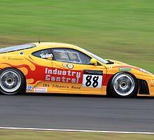 Ferrari on Fire by Son Truong