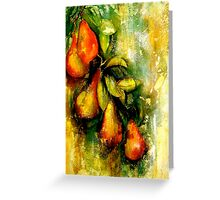 Espalier..A Still Life Greeting Card