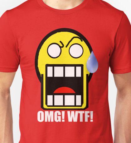 The OMG! Smily Face Unisex T-Shirt