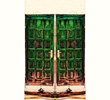 Behind the Green Door by Kasia-D