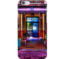 Old Restaurant Fine Art Print iPhone Case/Skin