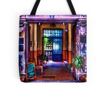 Old Restaurant Fine Art Print Tote Bag