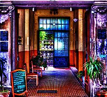 Old Restaurant Fine Art Print by stockfineart