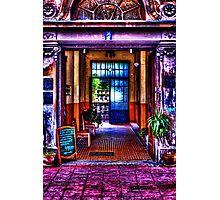 Old Restaurant Fine Art Print Photographic Print