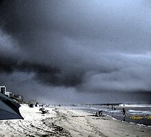 Hurricane At the Beach by Amedori