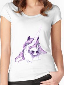 ~*~ Unicorn Dreams ~*~ Women's Fitted Scoop T-Shirt