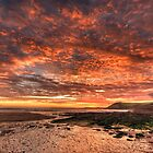 Sunset At Manobier by Mark Robson