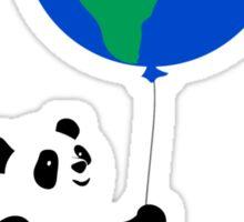 Earth Day Panda Sticker