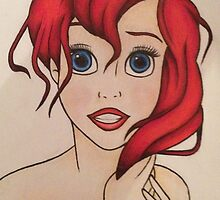 Ariel from The Little Mermaid by Vickyis007