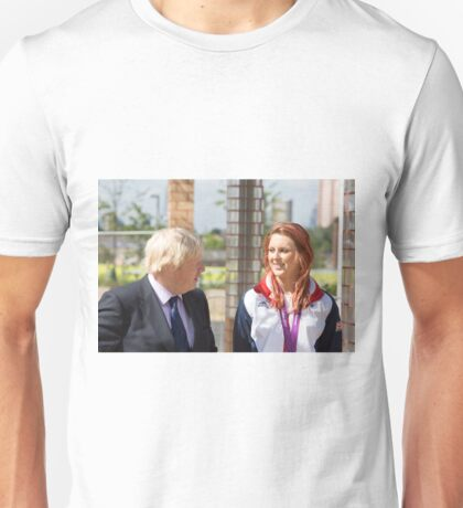 Boris Johnson MP & Jessica-Jane Applegate MBE Unisex T-Shirt
