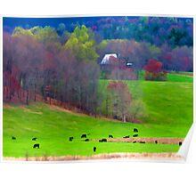 Rural Farm Poster