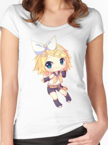 Kagamine Rin Women's Fitted Scoop T-Shirt