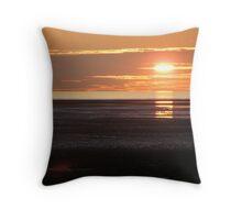 Sunset St Annes 5/10/09 Throw Pillow