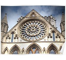 York Minster Top View Poster