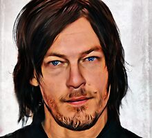 Norman Reedus by redsangre