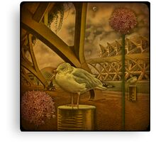 Attached to the Art... or flights in dream and reality. Canvas Print