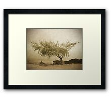 A Sky the Colour of Memory Framed Print